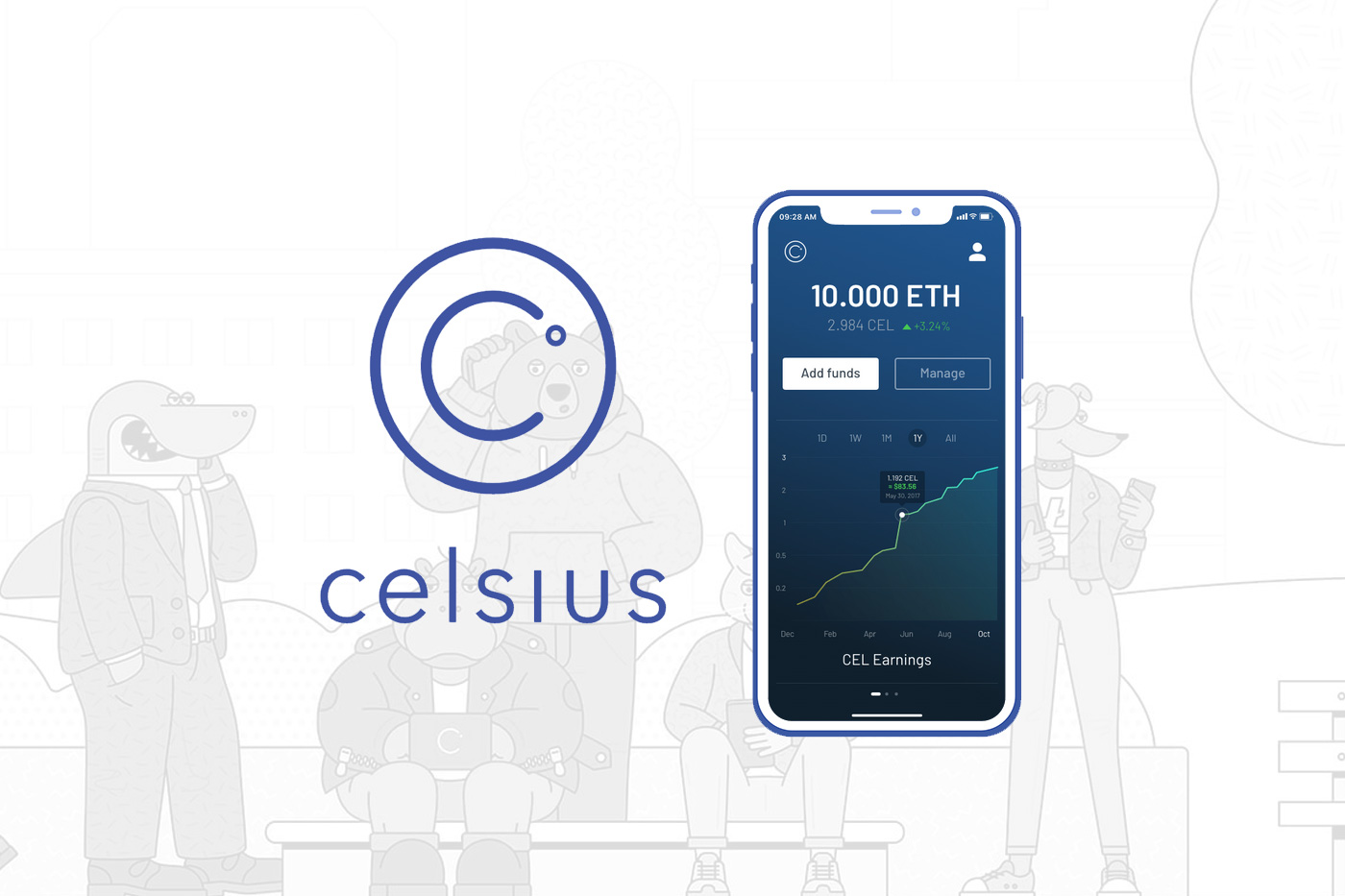 Trybe: Celsius Network  A New Way to Deposit, Borrow and Earn