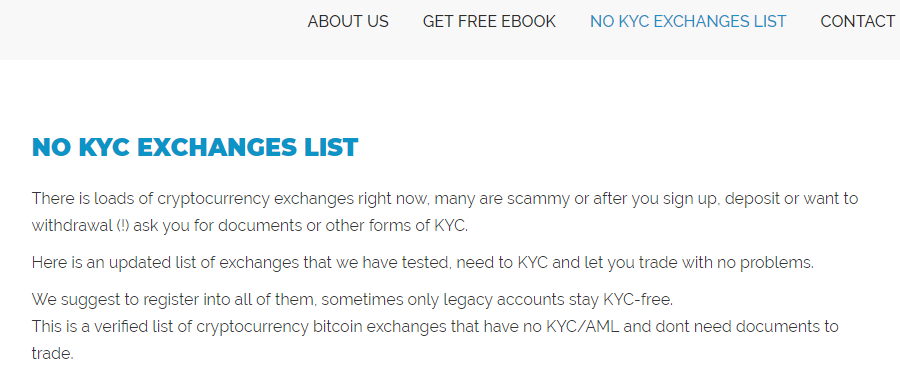 cryptocurrency exchange checklist